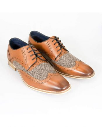 Cavani William Tan Mens Shoes - UK7 | EU41 - Shoes