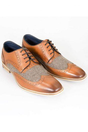 Cavani William Tan Mens Shoes - UK7 | EU41 - Shoes