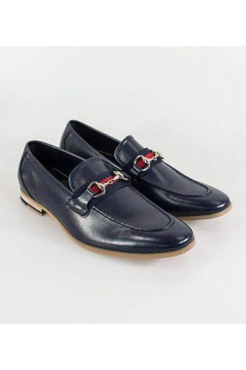 Cavani Yale Mens Navy Loafer - UK7 | EU41 - Shoes