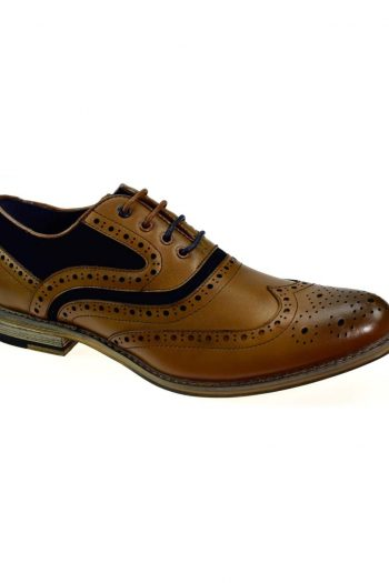 Ethan Tan Leather Shoes - Shoes