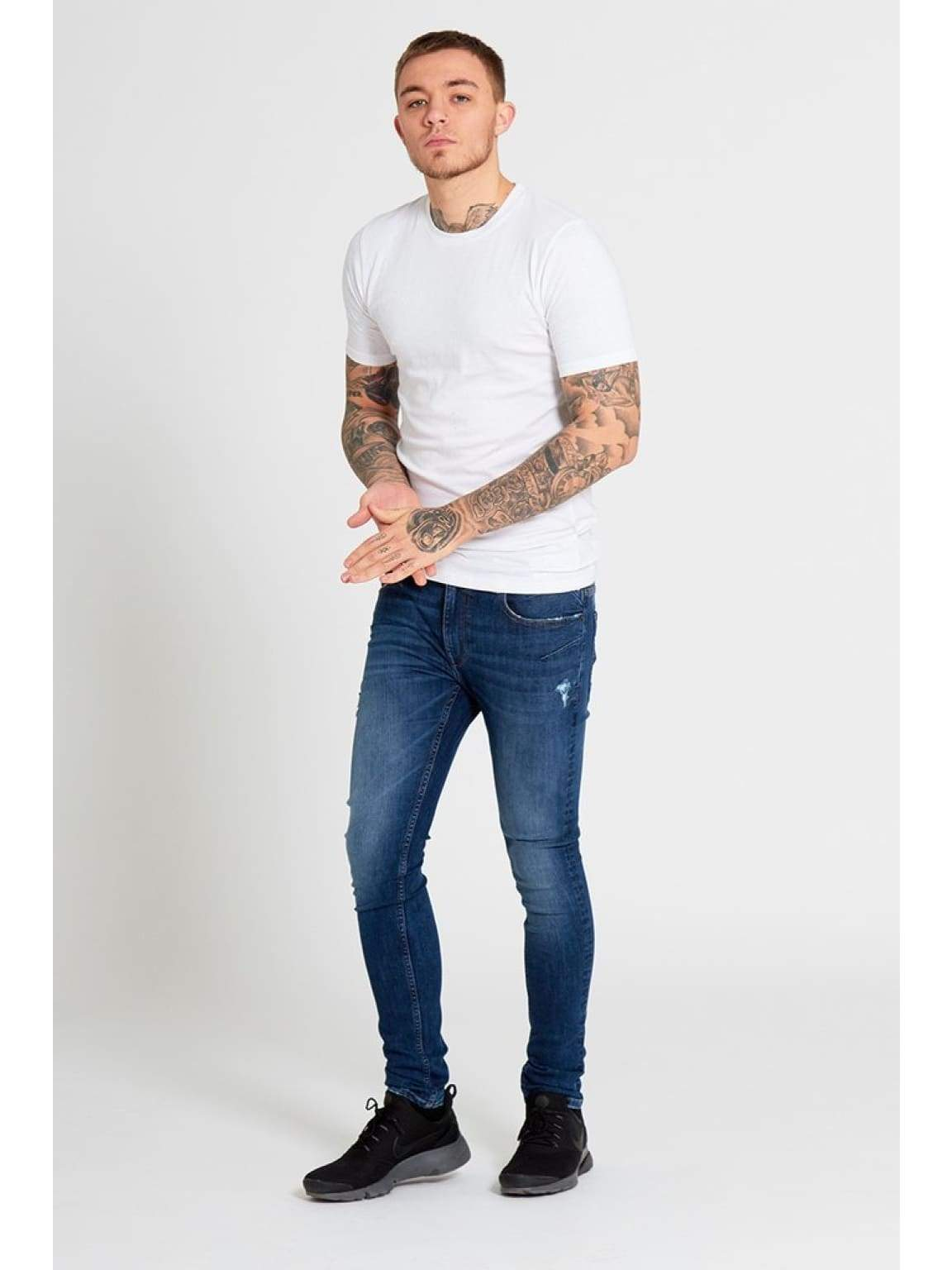 EXILE Skinny Jeans In Light Wash - Jeans