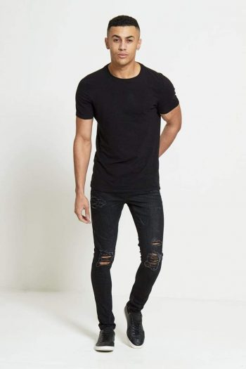 HAVOC Super Skinny Jeans In True Black - Jeans