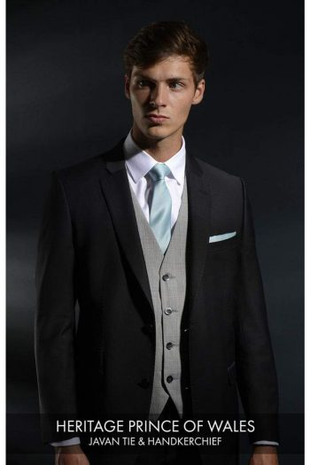 Heirloom Heritage Prince of wales Luxury Waistcoat - 34R - WAISTCOATS