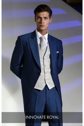 Heirloom Innovate Mens Royal Luxury 100% Wool Tweed Waistcoat - WAISTCOATS