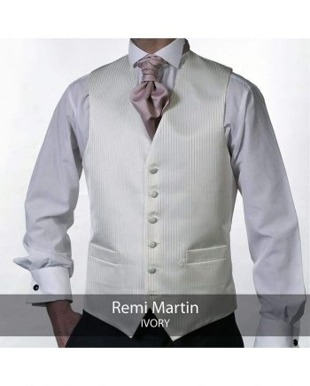Heirloom Remi Martin Mens Ivory Luxury 100% Wool Tweed Waistcoat - WAISTCOATS