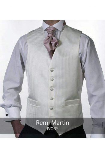 Heirloom Remi Martin Mens Ivory Luxury 100% Wool Tweed Waistcoat - WAISTCOATS