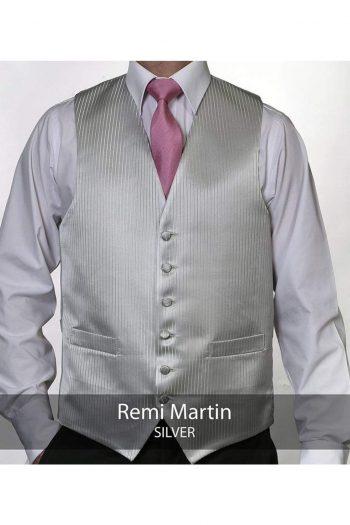 Heirloom Remi Martin Mens Silver Luxury 100% Wool Tweed Waistcoat - 34R - WAISTCOATS