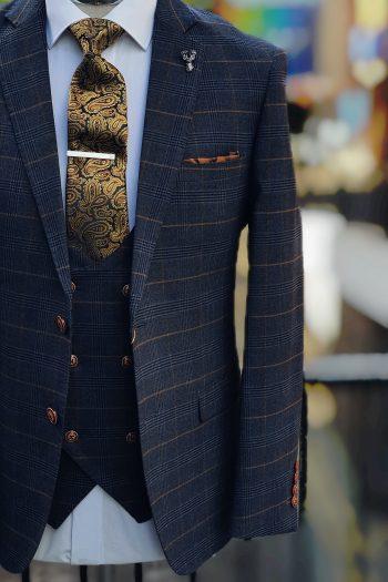 Marc Darcy jenson marine Tweed Suit