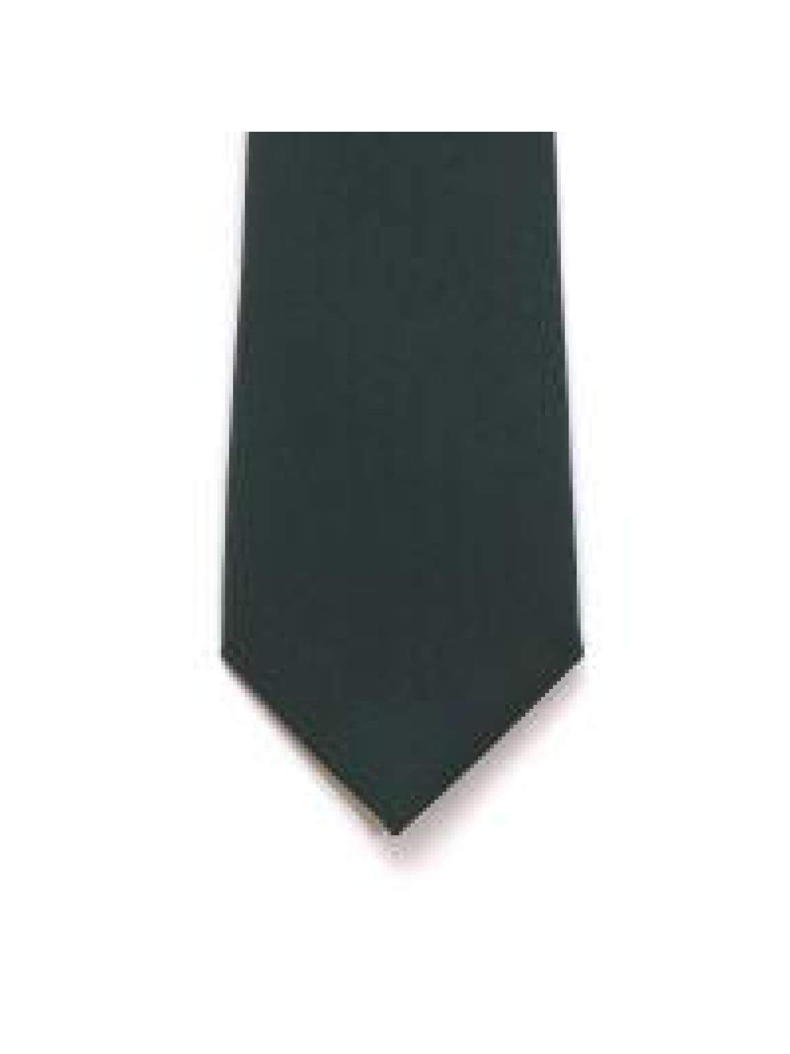 LA Smith Bottle Green Skinny Panama Tie - Accessories