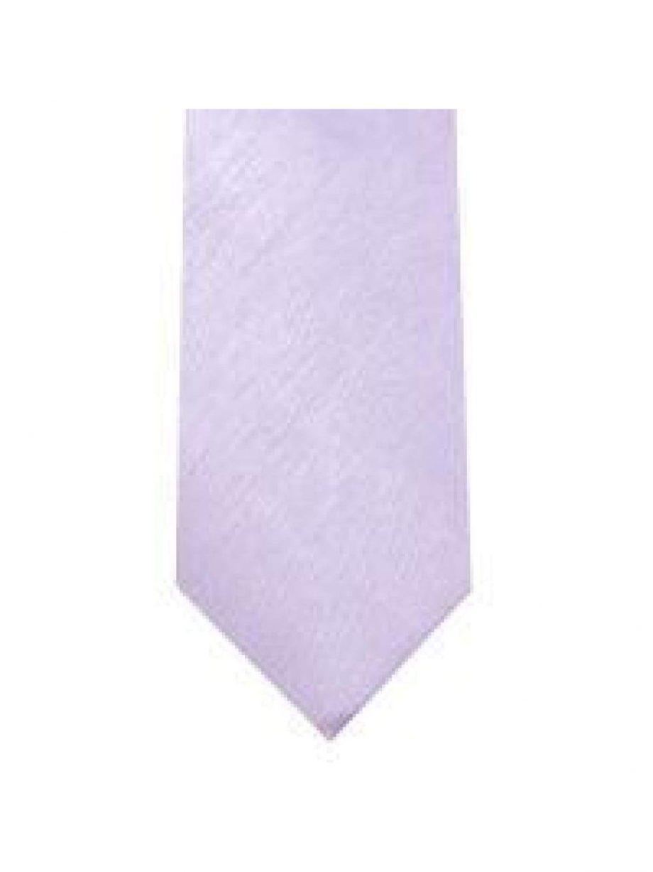 LA Smith Lilac Skinny Shantung Tie - Accessories
