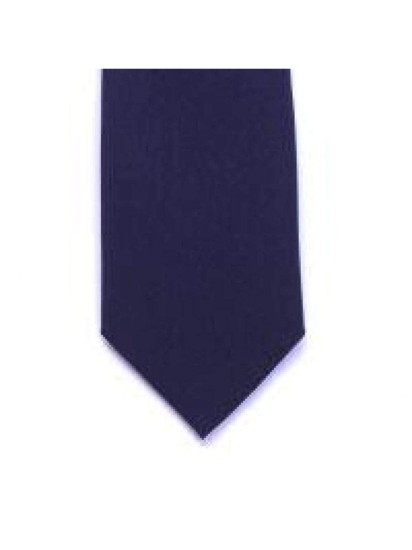LA Smith Navy Skinny Panama Tie - Accessories