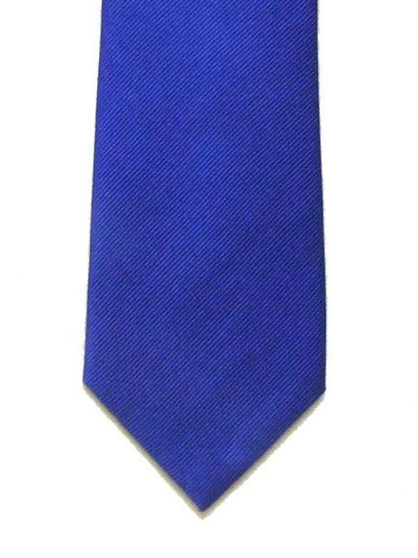 LA Smith Plain Royal Silk Tie - Accessories