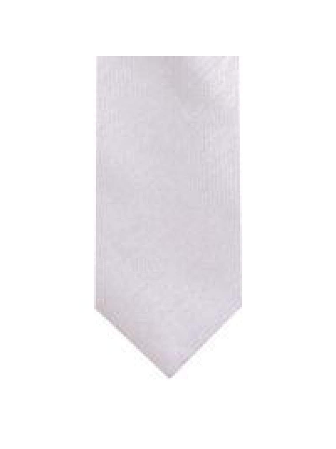 LA Smith Silver Skinny Shantung Tie - Accessories