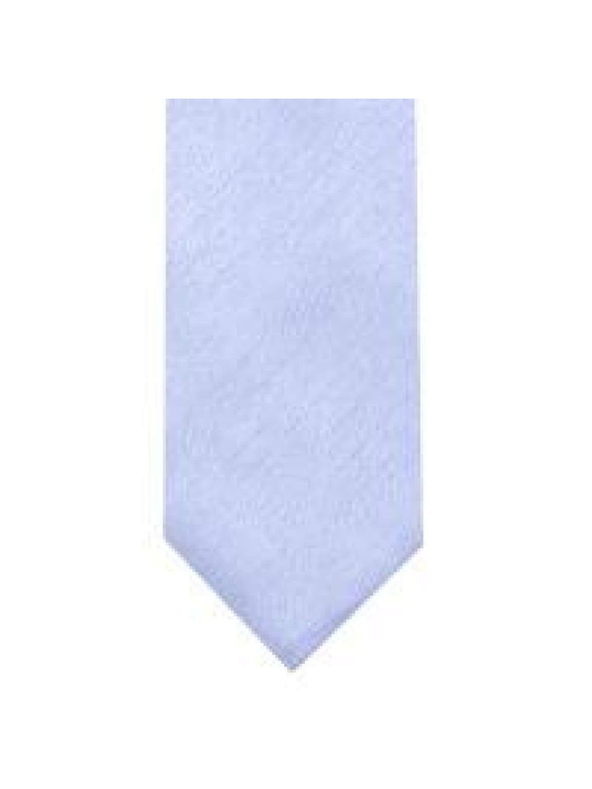 LA Smith Sky Blue Skinny Shantung Tie - Accessories