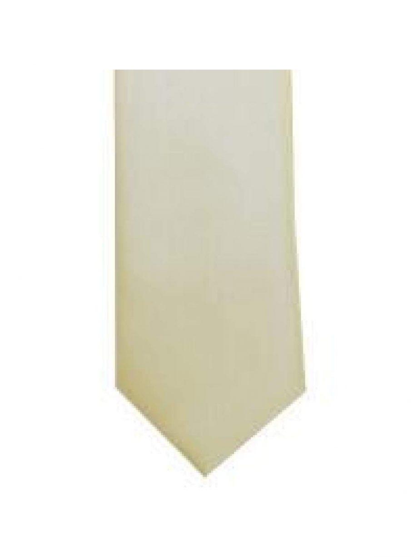 LA Smith Stone Skinny Weft Satin Tie - Accessories