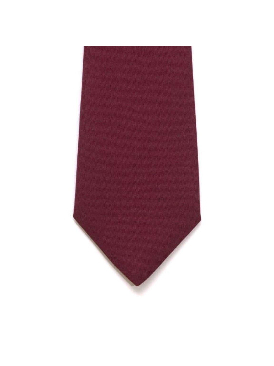 LA Smith Wine Skinny Panama Tie - Accessories