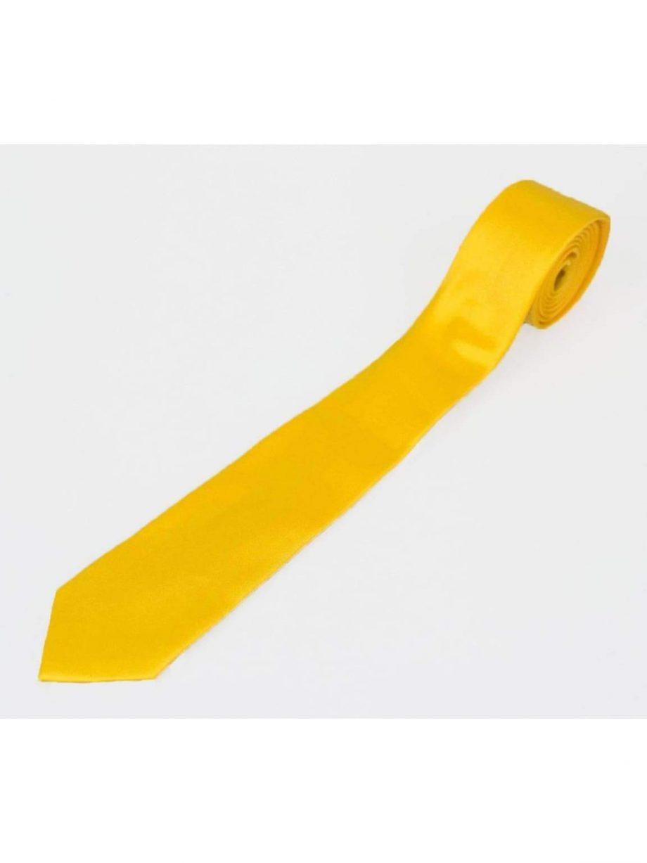 Lemon Plain Satin Tie Set - Accessories