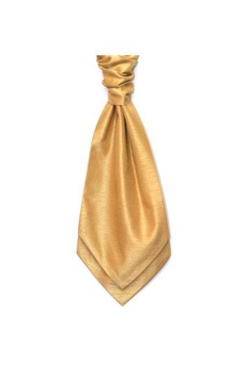 Mens LA Smith BUTTERSCOTCH Wedding Cravat - Accessories