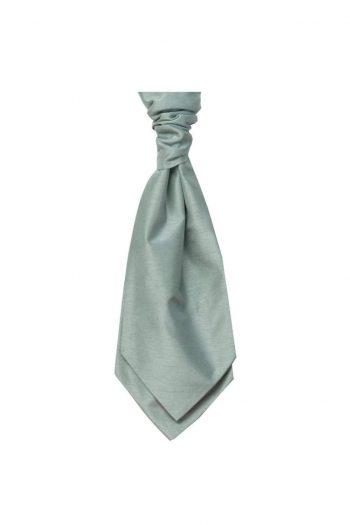 Mens LA Smith SAGE Wedding Cravat - Adult Self Tie Cravat - Accessories