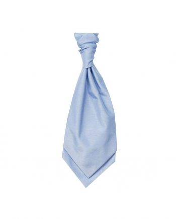 Mens LA Smith SKY Wedding Cravat - Adult Self Tie Cravat - Accessories
