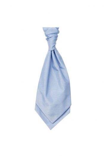Mens LA Smith SKY Wedding Cravat - Adult Self Tie Cravat - Accessories