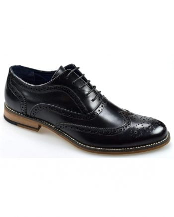 Oxford Black Brogue Shoes - UK7 | EU41 - Shoes