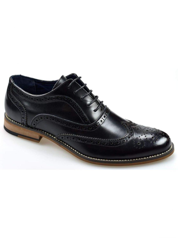 Oxford Black Brogue Shoes - UK7 | EU41 - Shoes