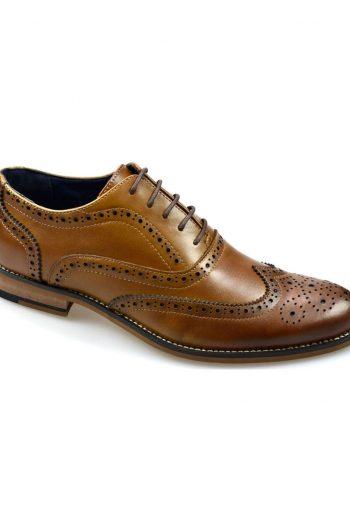 Oxford Tan Brogue Shoes - UK7 | EU41 - Shoes